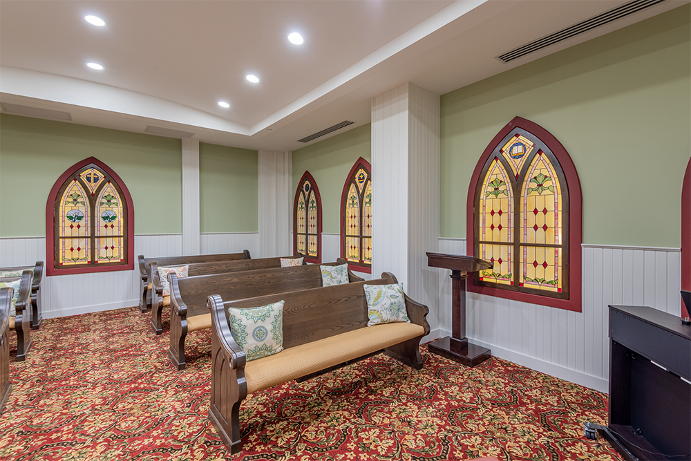 image of a suite at Waterford Barrie Retirement Residence