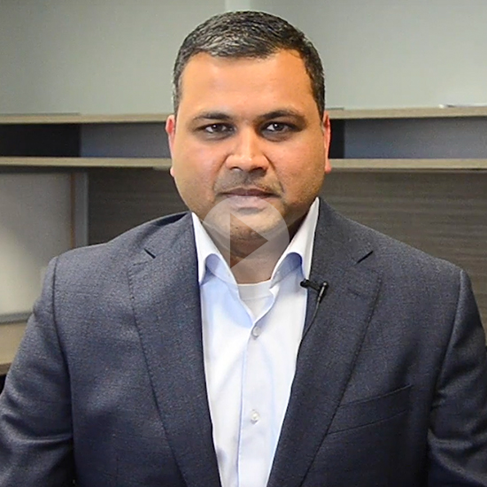 image of Nitin Jain, President and CEO of Sienna Senior Living