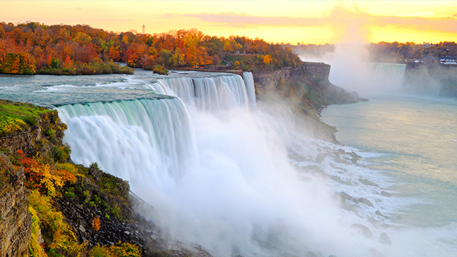 Long Term Care Ontario, image of Niagara Falls in Ontario, Canada