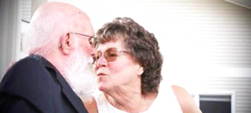 Keith and Pattie Laforge, who live side-by-side in Lake Country Lodge and Lake Country Manor, were married a third time this month.