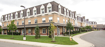 image of the exterior view of Cedarvale Lodge Retirement and Care Community.