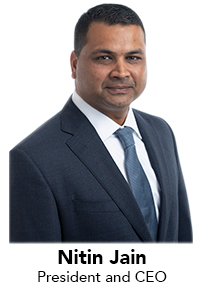 image of Nitin Jain - President and CEO
