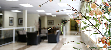 interior view of Kawartha Lake Retirement Residence